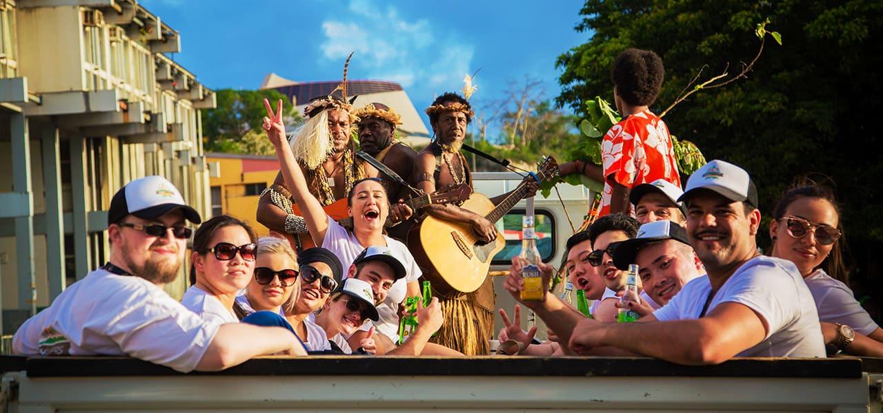 Creative Event Management Vanuatu Transport