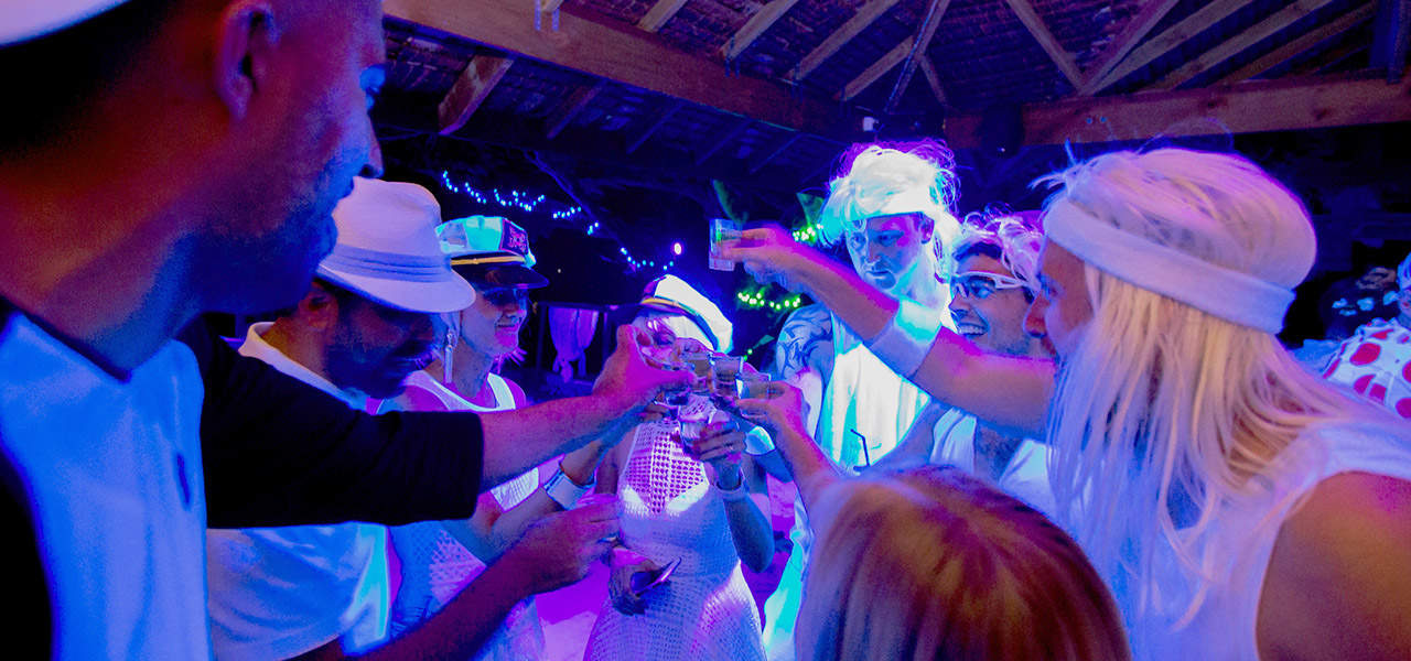 Creative Event Management Vanuatu White Party